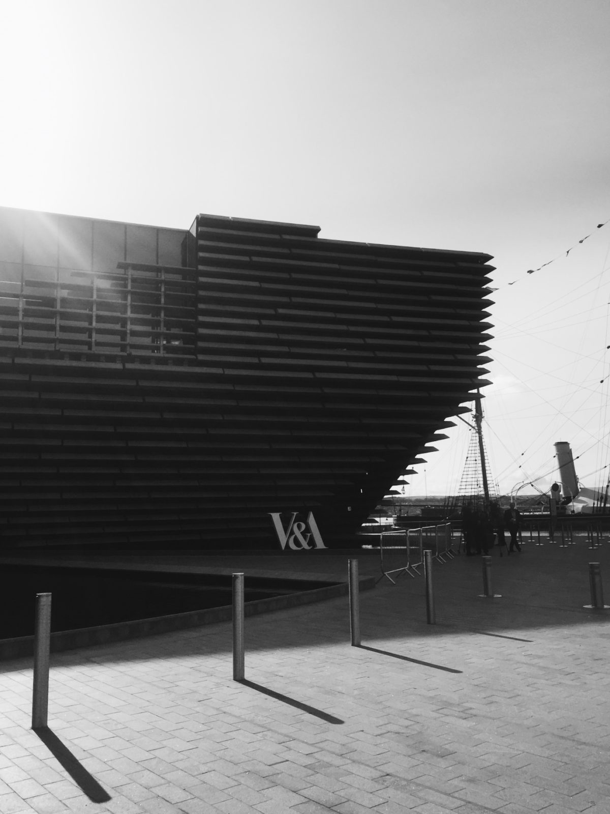 Graphic Design Agency Visit to V&A Dundee